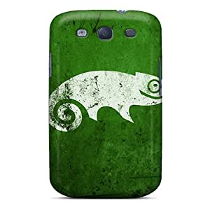 Galaxy S3 Case Slim [ultra Fit] Green Chameleon Protective Case Cover