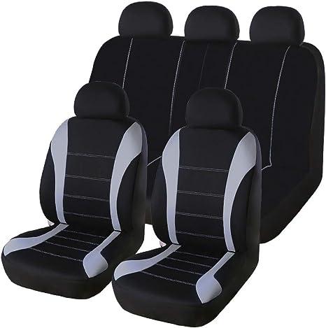 Komplettsatz Auto Sitzbezüge Blau Polyester für