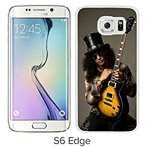 Lovely And Unique Designed Case With Slash White For Samsung Galaxy S6 Edge Phone Case