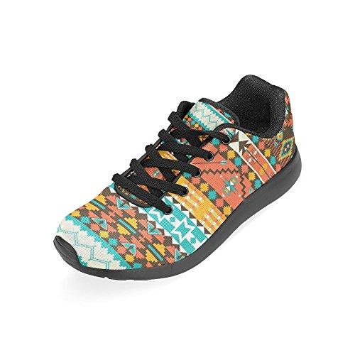 Interestprint Womens Route Chaussures De Course Jogging Sport Léger Marche Athlétisme Sneakers Tribes Flèches