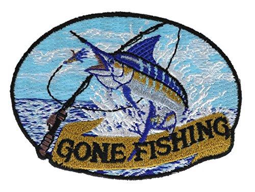 - Gone Fishing Blue Marlin 3 inch Patch IvanP4513