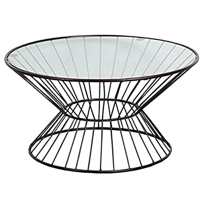 Git Mit Home H-1131 Coffee Tables, Glass - Hand crafted Easy to use Manufactured in India - living-room-furniture, living-room, coffee-tables - 518sQFxlwKL. SS400  -