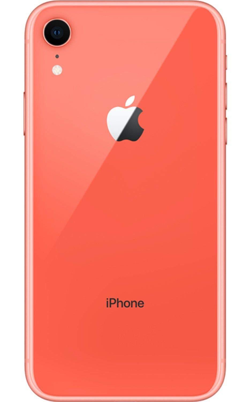 Apple iPhone XR, 64GB, Coral , Fully Unlocked (Renewed)