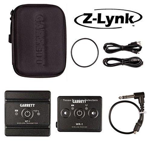 Garrett Headphone (Garrett Z-Lynk Wireless System for Metal Detectors ~ 6 Times Faster Than Bluetooth !)