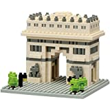 Kawada Nanoblock Arc de Triomphe de l'Etoile Building Kit