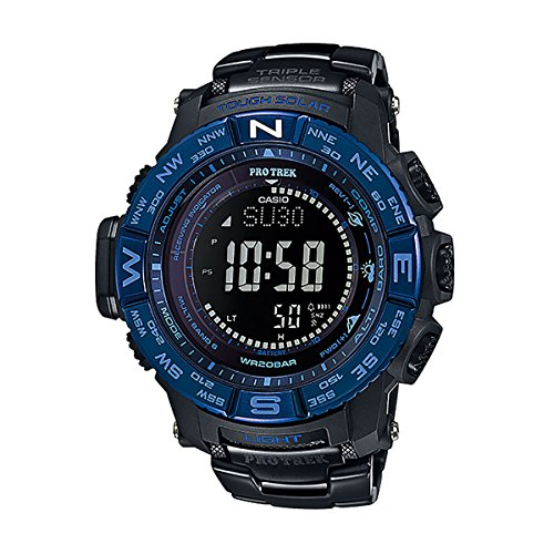 CASIO Watch PROTREK Triple Sensor Ver.3 Equipped With the World Six Stations Corresponding Solar Radio PRW-3500SYT-1ADR Men