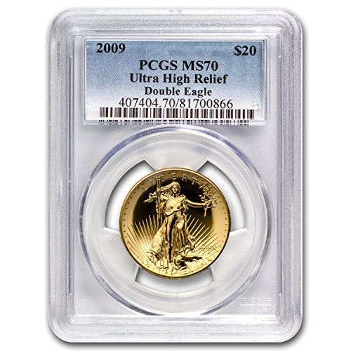 2009 Ultra High Relief Double Eagle MS-70 PCGS Gold MS-70 PCGS