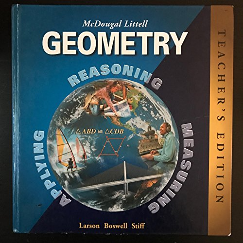 Geometry: Teacher's Edition