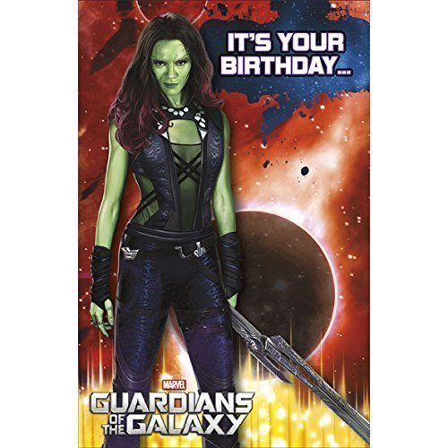 Tarjeta de cumpleaños de Guardianes de la galaxia de Marvel ...