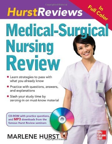 Hurst Reviews Medical-Surgical Nursing Review by Hurst Marlene (2011-06-07) Paperback