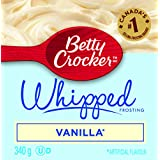 Betty Crocker Gluten Free Vanilla Whipped Frosting, 340 Gram