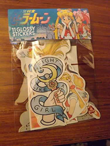 Sailor Moon sticker pack 11pc