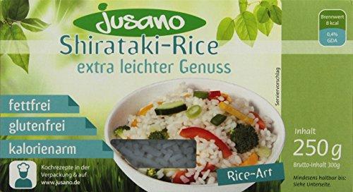 Jusano Shirataki Noodles - Rice Art, 5er Pack (5 x 250 g)