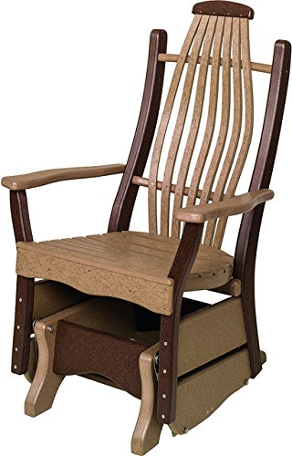 Furniture Barn Poly Lumber Bentwood Style Single Glider i...
