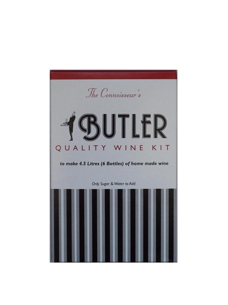 Butler Ginger 6 Bottle Home Brew Wine Kit Butlers