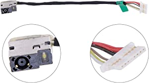 Eathtek Replacement DC Power Jack Cable Harness for HP Spectre X360 13-4003dx 13-4005dx 13-4010ca 13-4103dx Series
