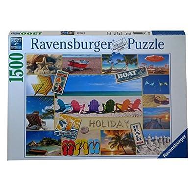facbf00e9f1190 Puzzle della marca ravensburger da 1500 pezzi con tema buone vacanze