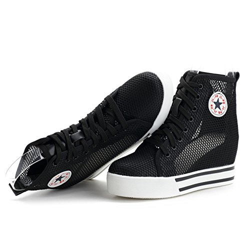 Sneaker Da Donna In Nylon Traspirante Comfort Da Donna Generica