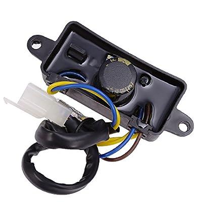 Voltage Regulator AVR For 3500 3550 3600 4500 4550Watt Generator 290440009-02: Automotive