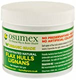 Concentrated Organic Natural Flax Hulls (Lignans) For Sale