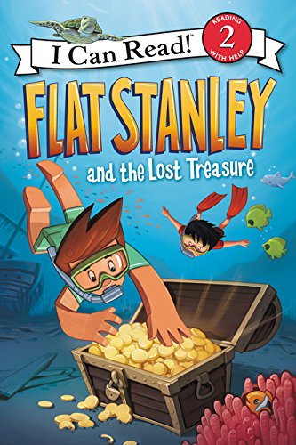 Flat Stanley and the Lost Treasure (I Can Read Level 2) Paperback – Illustrated, July 5, 2016