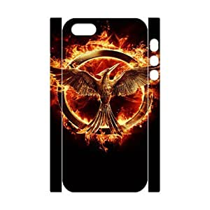 The Hunger Games 3 ROCK072153 3D Art Print Design Phone Back Case Customized Hard Shell Protection Iphone 5,5S