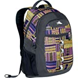 High Sierra Opie Backpack, Purple Pattern, 18.5×12.5×8.5-Inch, Outdoor Stuffs