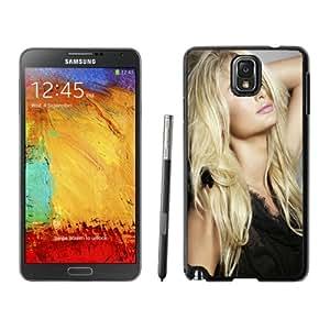 Beautiful Custom Designed Samsung Galaxy Note 3 N900A N900V N900P N900T Phone Case For Paris Hilton Long Hair Phone Case Cover