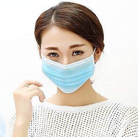 drawihi 100 unidades Práctico desechables Máscaras Máscaras Non ...