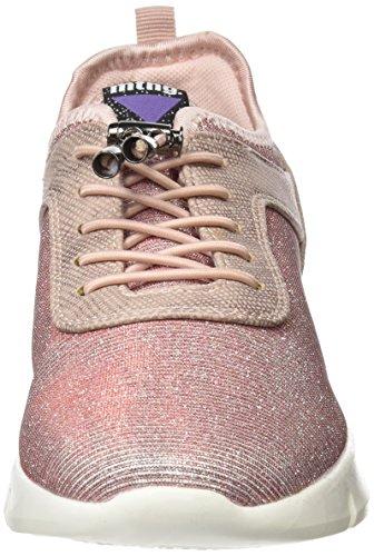 MTNG Damen Ferrata Sneakers Beige (Nurexin Nude / Santo Nude / Lycra Nude)