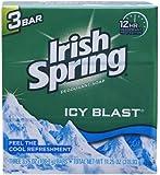 Icyblast Cool Refreshment Deodorant Soap by Irish Spring, 3 Count by Irish Spring