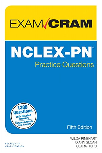 NCLEX-PN Practice Questions Exam Cram (5th Edition)