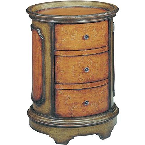 Stein World Furniture Natalie Accent Table, Antique Green, Brown ()