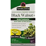 Nature's Answer Black Walnut and Wormwood Extract Capsules, 90 Count