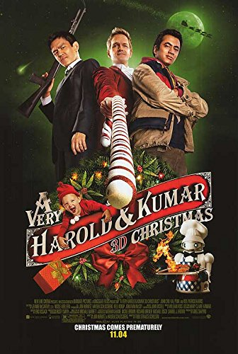 Very Harold and Kumar 3D Christmas - Authentic Original 27