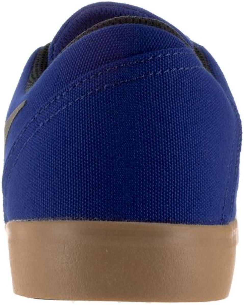 NIKE SB Check Cnvs, Zapatillas de Skateboarding para Hombre Dp Royal Blue Blk Gm Lght Brwn