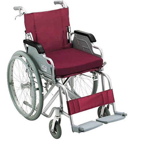 アルミ製車いす(ノーパンクタイプ) ダイエット 健康 健康器具 車椅子 top1-ds-1952232-ah [簡素パッケージ品] B076PK8T9Y