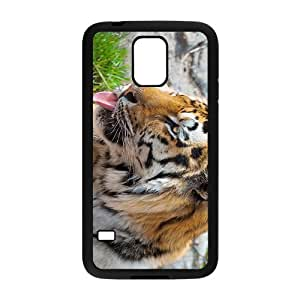 The Cute Tiger Hight Quality Plastic Case for Samsung Galaxy S5