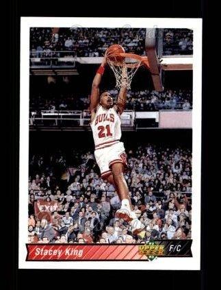 1992 Upper Deck # 285 Stacey King Chicago Bulls (Basketball Card) Dean's Cards 8 - NM/MT Bulls