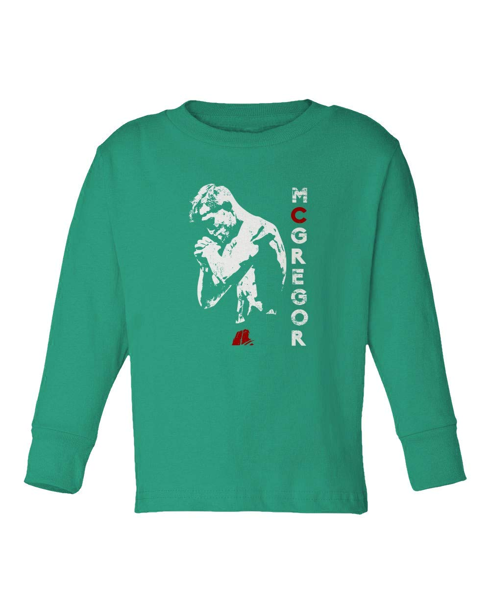 Amazon.com  SMARTZONE The King Conor McGregor Big Fight Khabib Little Kids  Girls Boys Toddler Long Sleeve T-Shirt  Sports   Outdoors 283ada041