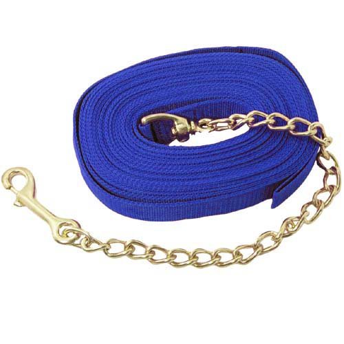 Imported Horse & Supply Lunge Line with Chain
