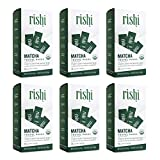 Rishi Tea Matcha Organic Green Tea Powder (Pack of 6)