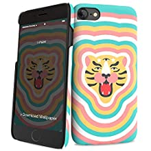 i-Paint - Carcasa para iPhone, Tiger Stars, iPhone X