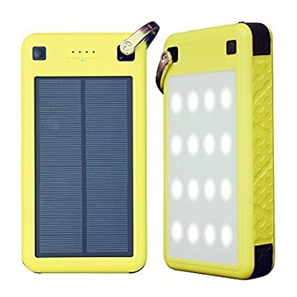 best service 5a64f d258e USB C Solar Battery Charger, ZeroLemon 26800mAh Solarjuice USB C Solar  Battery Charger Power Bank with Quick Charge 3.0 Waterproof Shockproof  Rugged ...