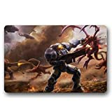 Homie Design Starcraft Ii Wings Of Liberty Custom Washable Doormat Floor/Bathroom Mats Entrance Mats 23.6 X 15.7 Inch Indoor/Outdoors