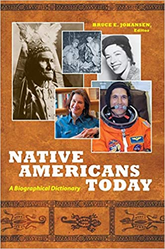 Native Americans Today A Biographical Dictionary