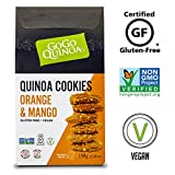 Cheap GoGo Quinoa Wheat, Corn and Egg Free Orange & Mango Essence Cookies, With Exotic Aroma and Fruity Taste Notes 13.96 oz