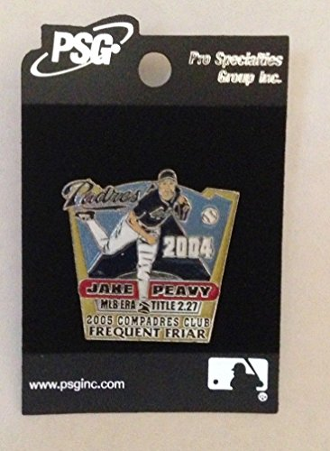 2004 San Diego Padres Jake Peavy Frequent Friar Pin