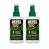 Repel 100 Insect Repellent, 4 oz. Pump Spray, Twin Pack