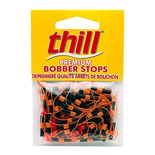 Thill Premium Bobber Stops - Fluorescent Orange - 40